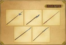 weapons polearms